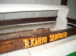 R.Karyo Sentono alias Wangsdrana