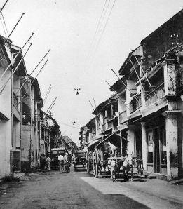 Perkampungan tua dalam kota Surabaya tempo dulu (foto.Dok Humas Pemkot Surabaya)