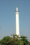 Dari puncak menara bisa melihat Kota Surabaya