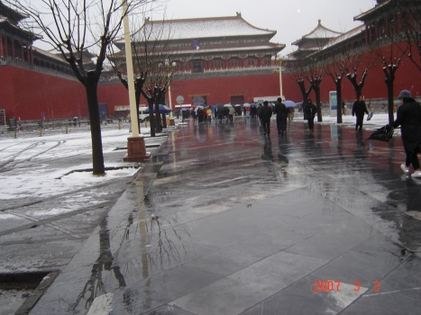 Saat berada di Beijing