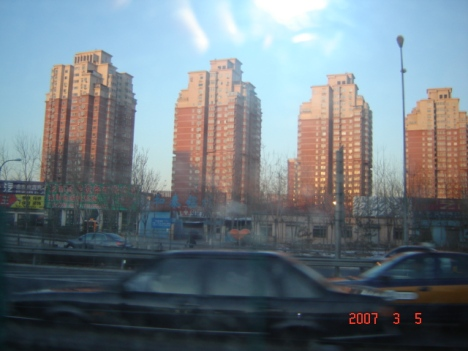 Budaya masyarakat China kini, hidup di rumah susun (flat)