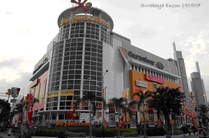 BG Junction di Jalan Bubutan 1-3 Surabaya. Dulu di sini berdiri Wijaya Shoping Center