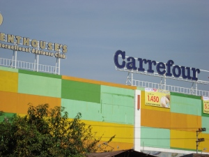 Carrefour di Jalan Ngagel Surabaya