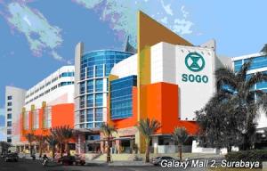 Galaxy Mall di kawasan Jalan Lingkar Timur
