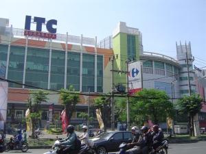 ITC yang dibangun di lahan bekas kantor PGN Jalan Gembong Surabaya