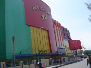 Pasar Atum Mall, pengembangan dari Pasar Atum