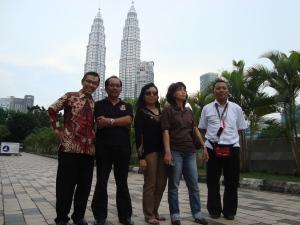 Rombongan sampai di Kuala Lumpur