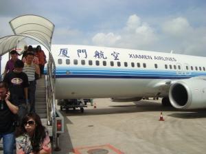 Mendarat di Bandara Xiamen