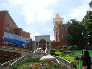 Bangunan kolonial di Pulau Gulangyu, Xiamen