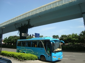 Sarana jalan dan jalan layang di Kota Xiamen, Fujian, China