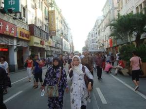 Kota lama di Xiamen, seperti Tunjungan di Surabaya