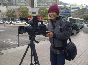Udara dingin di Seoul, ibukota Korsel